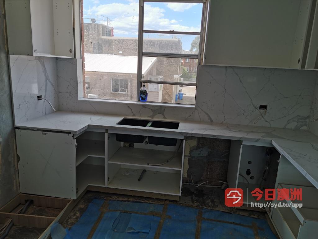 专业厨房台面石头加工安装