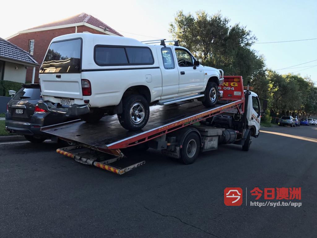 悉尼高价收车收二手车收报废车半个小时到位0424163788正规公司有license
