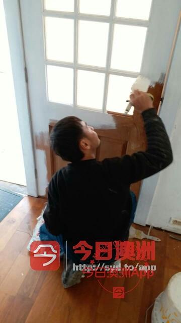 有牌照专业室内外油漆各种木门家具清油自己做价格低保证质量