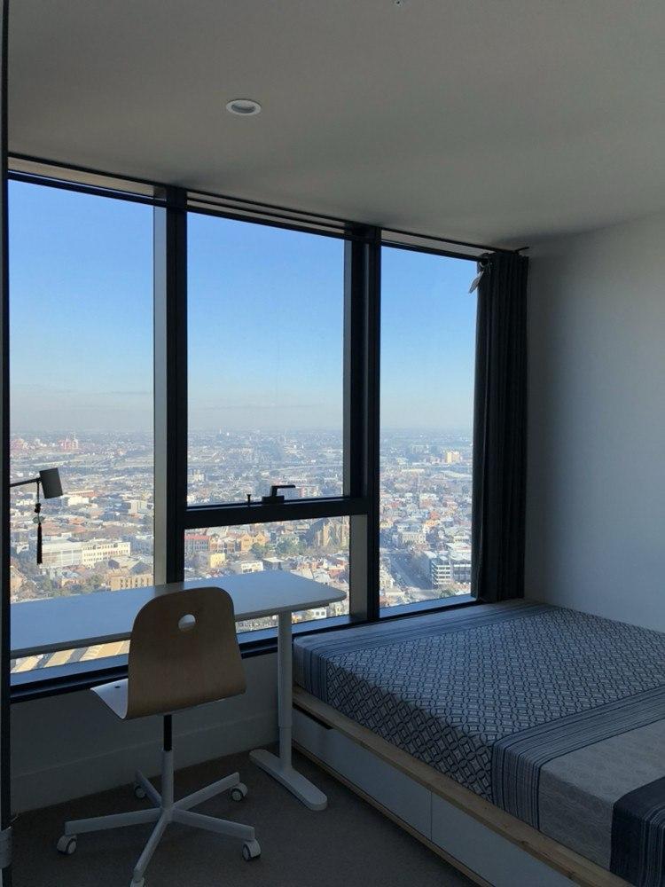 Melbourne City 墨尔本市中心 Vision Apartment 高层海景单间出租 限女生 长租优先