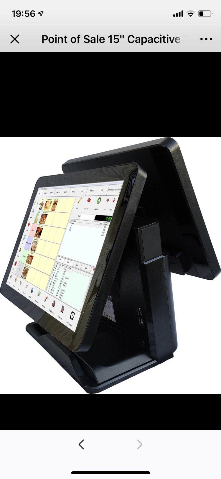 销售POS收银机软件硬件系统