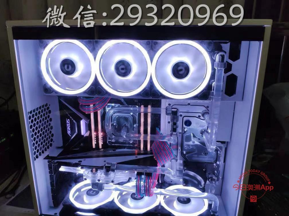 电脑组装电脑维修分体水冷改装CPU开盖服务苹果装win7 win10