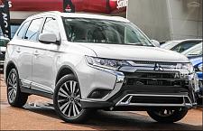 全新三菱Mitsubishi 7座 outlander 白色 适合uber XL 可做留学生贷款