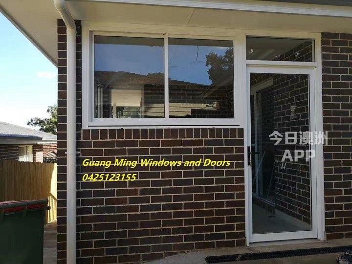 光明门窗厂铝合金玻璃门窗专业包阳台封露台以及室内隔断纱门纱窗防盗门窗