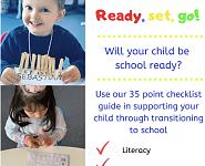 孩子准备好上小学了吗?快来测一测TA多少分?附School readiness checklist