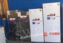 澳洲当地品牌冰箱洗衣机  大小中号都有货 一年保修