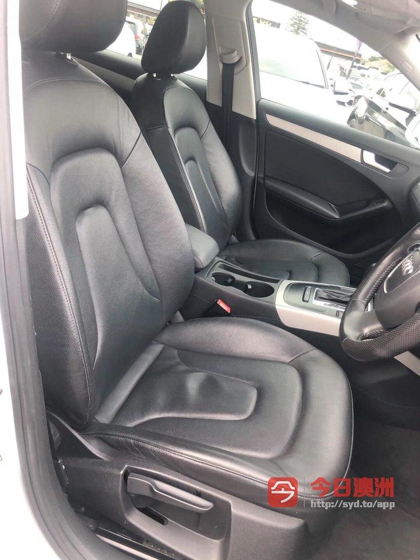 2012年 Audi A4 20T柴油 省油动力好 豪华舒适 完美车况