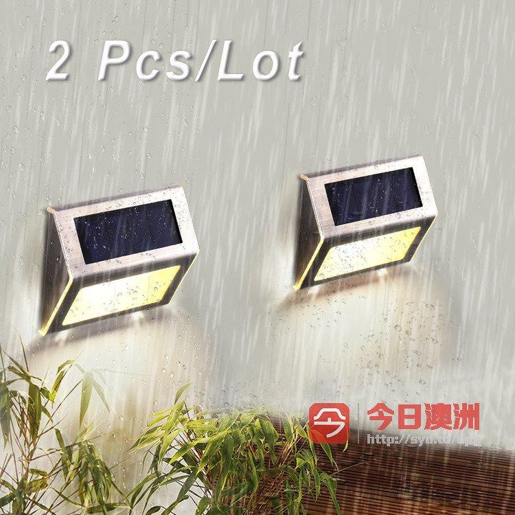 Solar Step Lights 太阳能楼梯灯质量优可登录网店查看价格