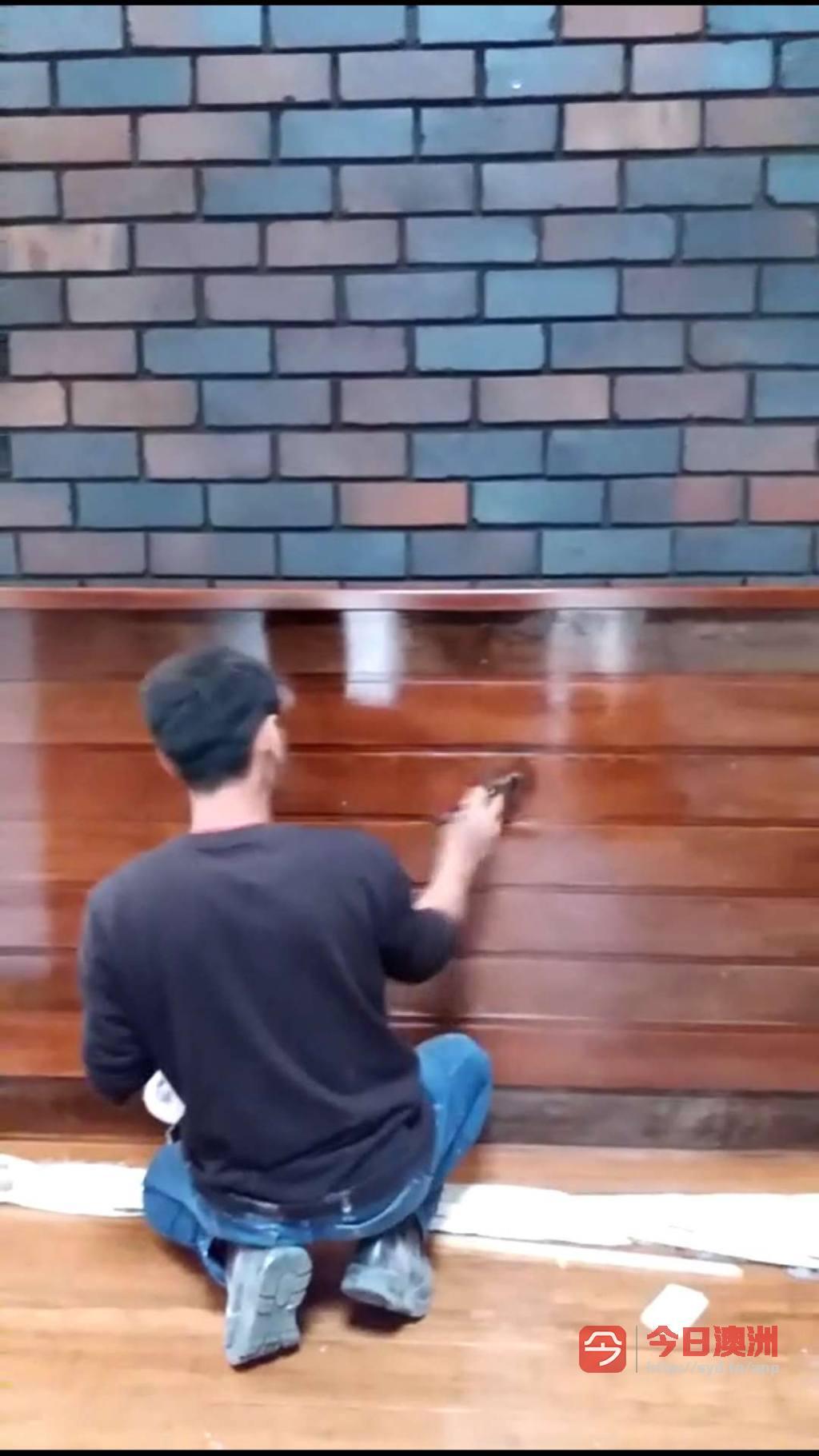 有牌照专业内外墙油漆各种围栏木门清油价格低完工及时