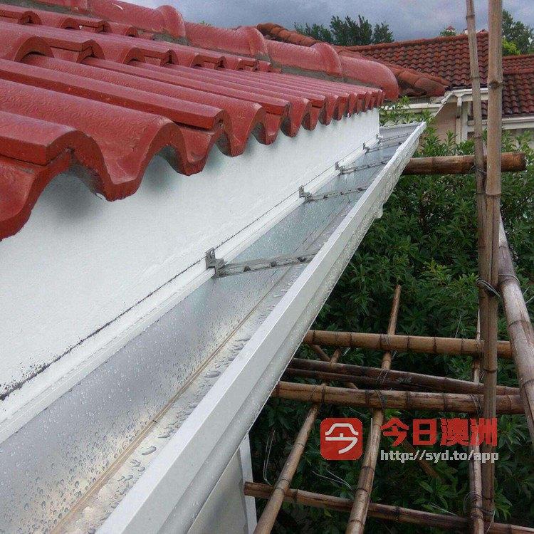 专业修理屋顶漏水 水槽