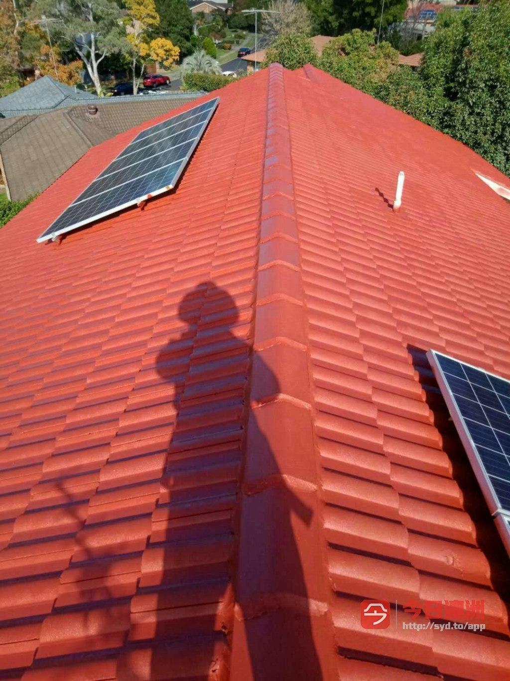 专业屋顶漏雨紧急维修  洗瓦喷漆  清洁雨水槽  更换雨水槽