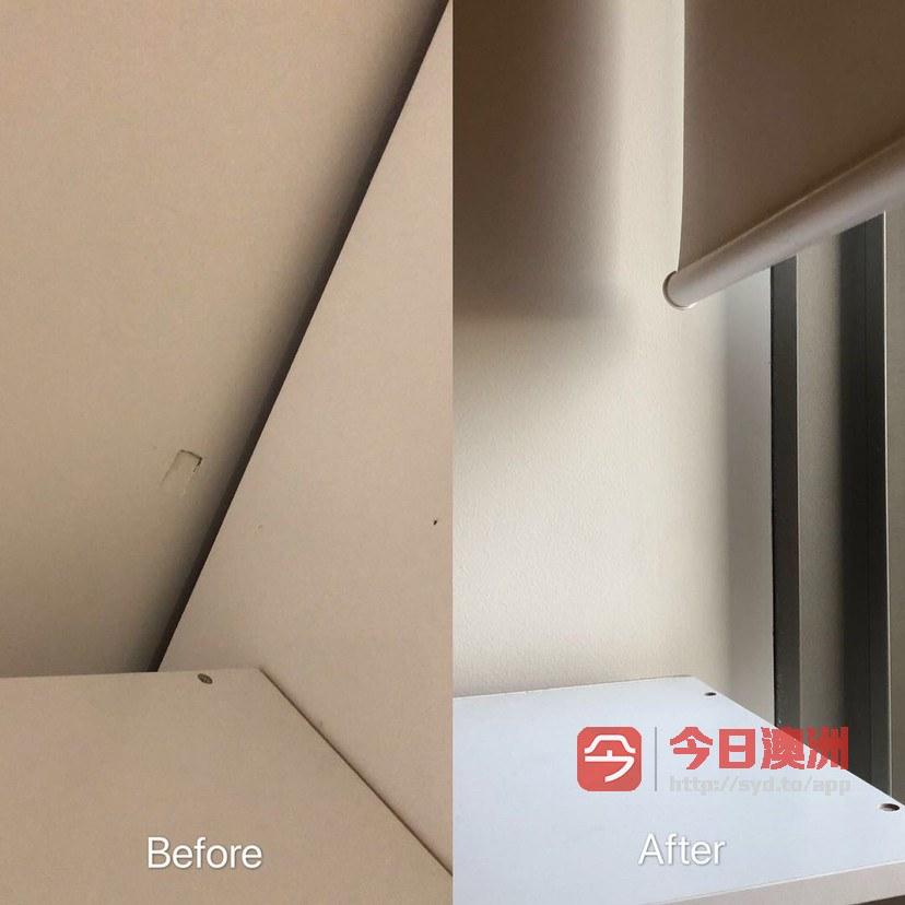 悉尼公寓修墙踢脚线破损门窗