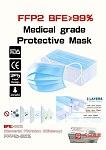 CE出口標準一次性醫用口罩 生意
