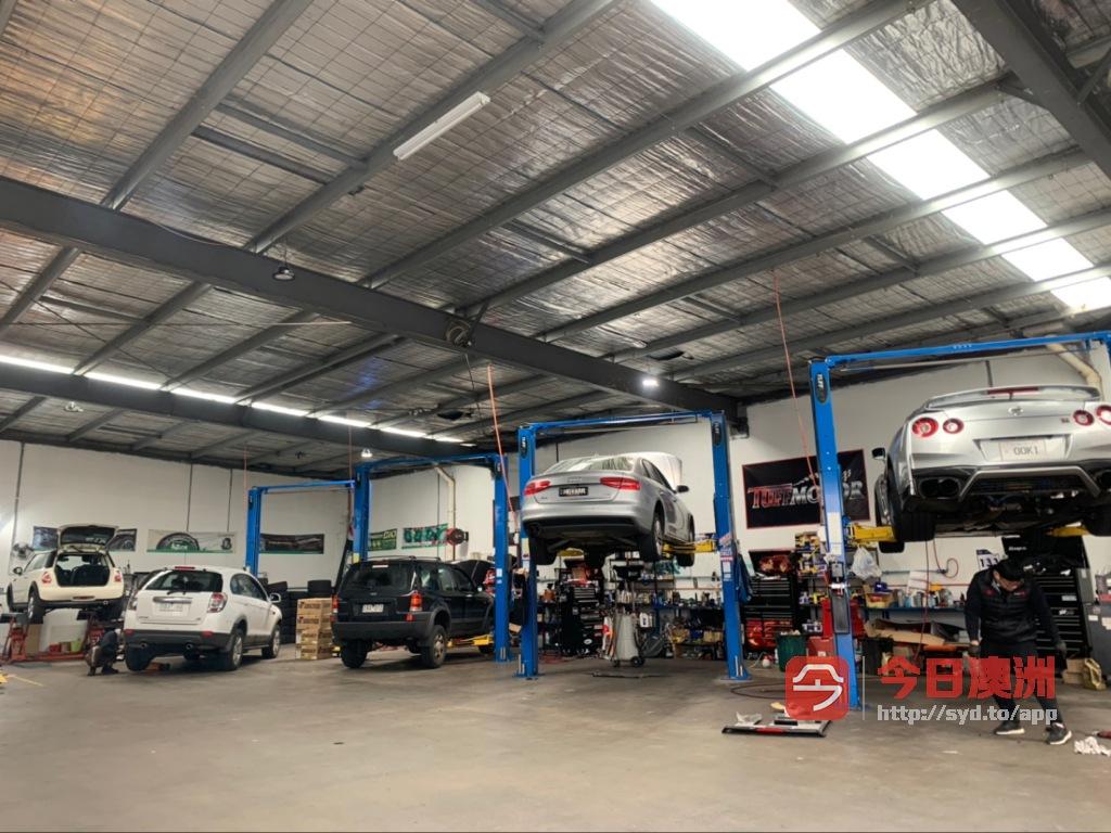 Tuffmotor  墨尔本修车保养改装  正规车厂 顶级质量和服务