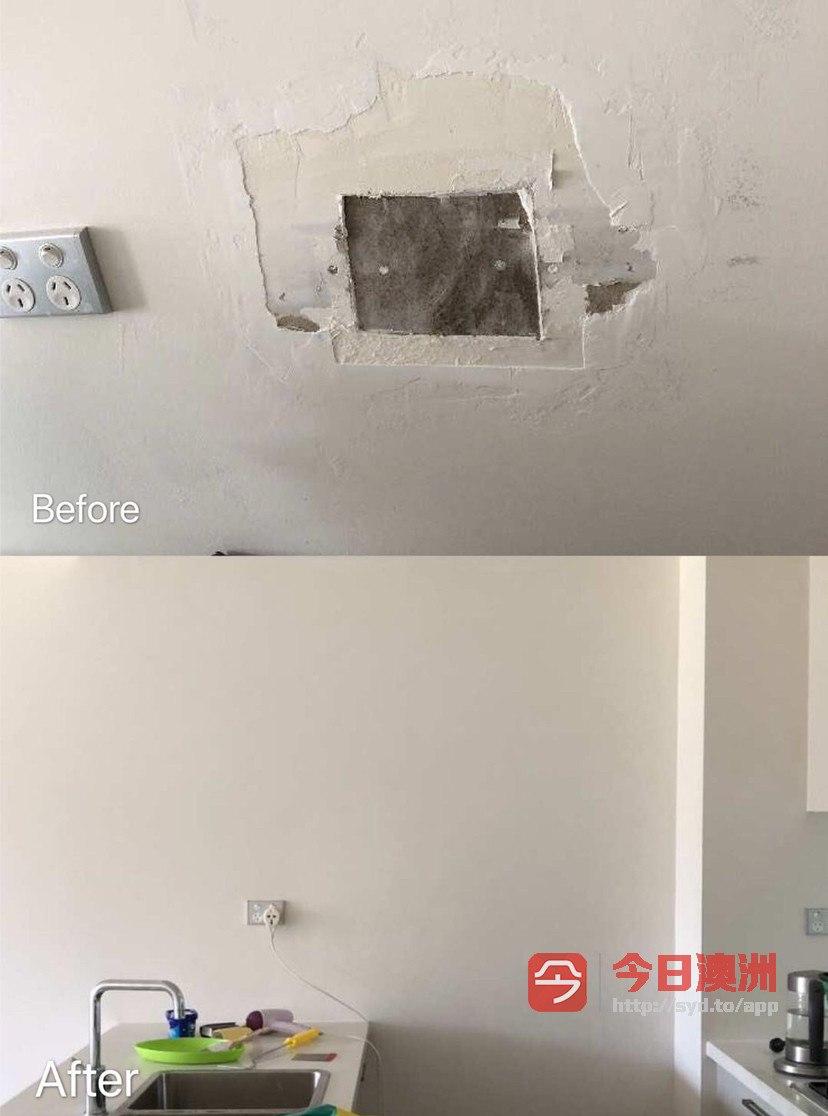悉尼修墙补漆门窗