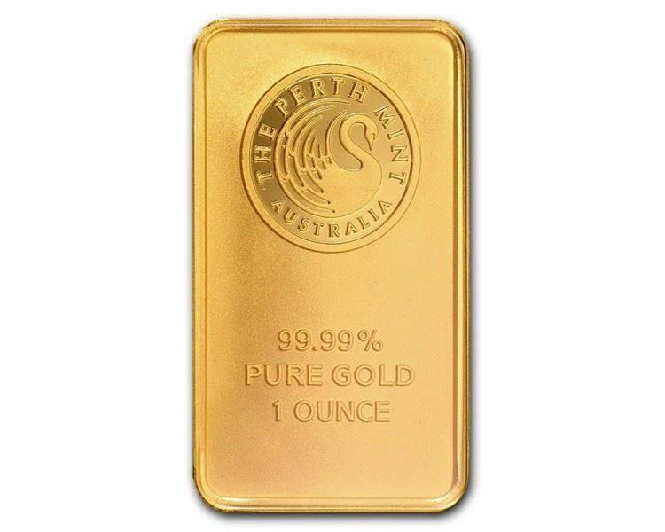1盎司 珀斯铸造局金条