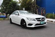 2014 MercedesBenz EClass Coupe双门豪华跑车 全保养记录