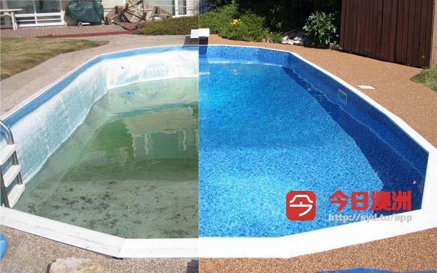 悉尼专业泳池维护清洗换水服务