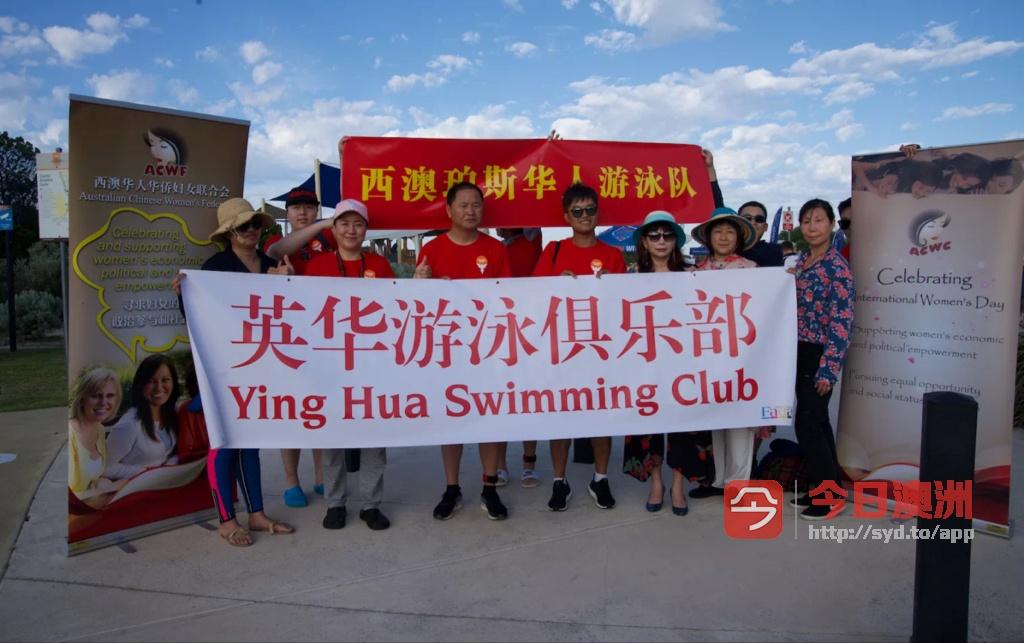 英华泳队诚邀游泳爱好者参加西澳老鼠岛海峡横渡比赛RCS