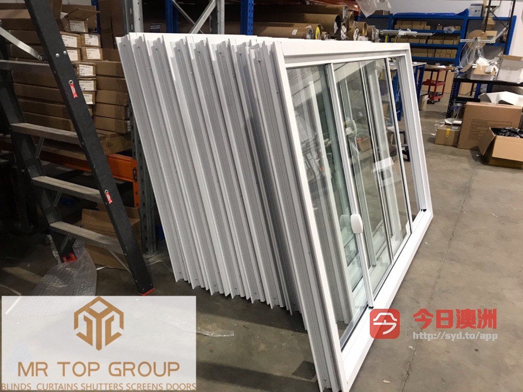 工厂专营玻璃门窗 围栏 纱窗 窗帘 批发零售