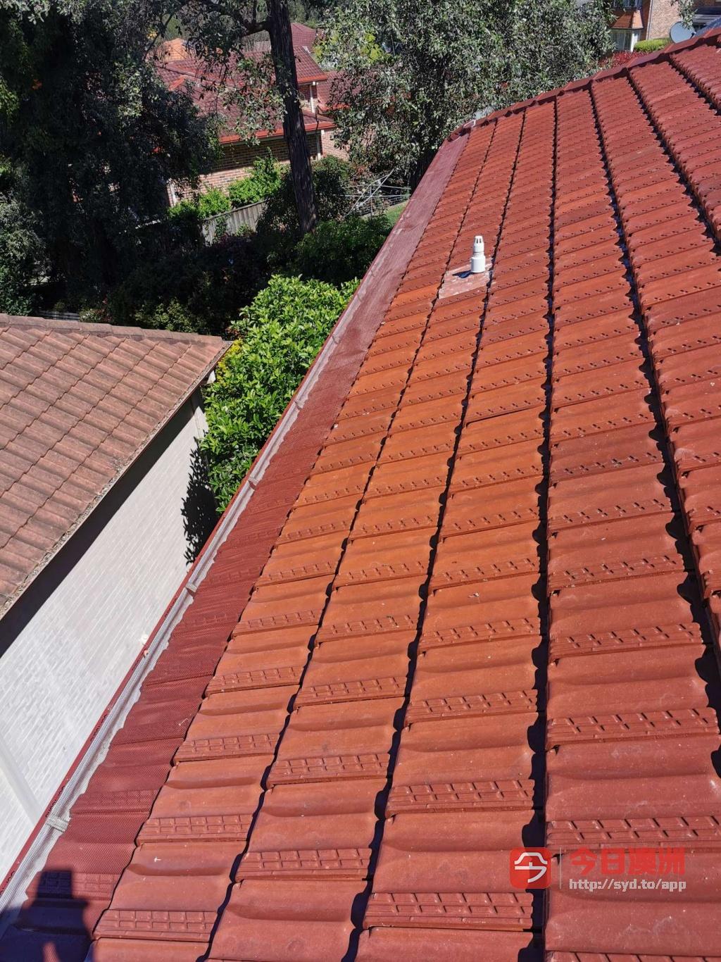 洗瓦喷漆修防补漏屋顶维护室内外油漆