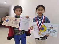 澳洲华裔子弟在世界城市杯三算全能竞赛中夺殊荣(组图)