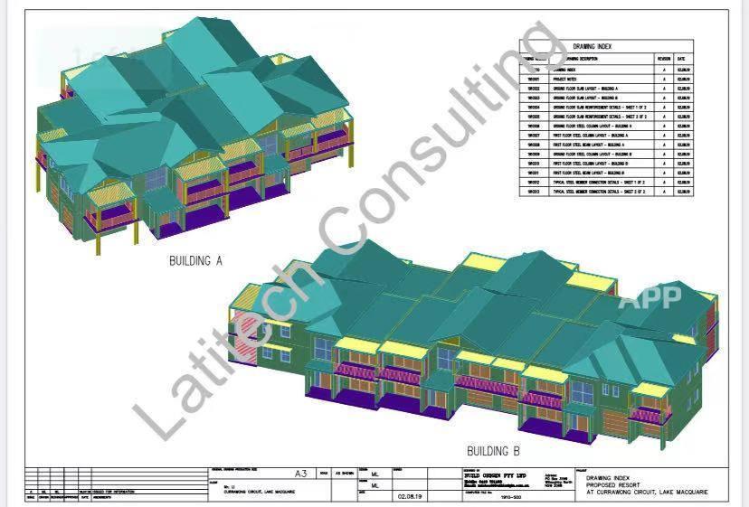 悉尼注册土木和结构工程师提供房屋商店厂房挡土墙阳台等结构设计及证书