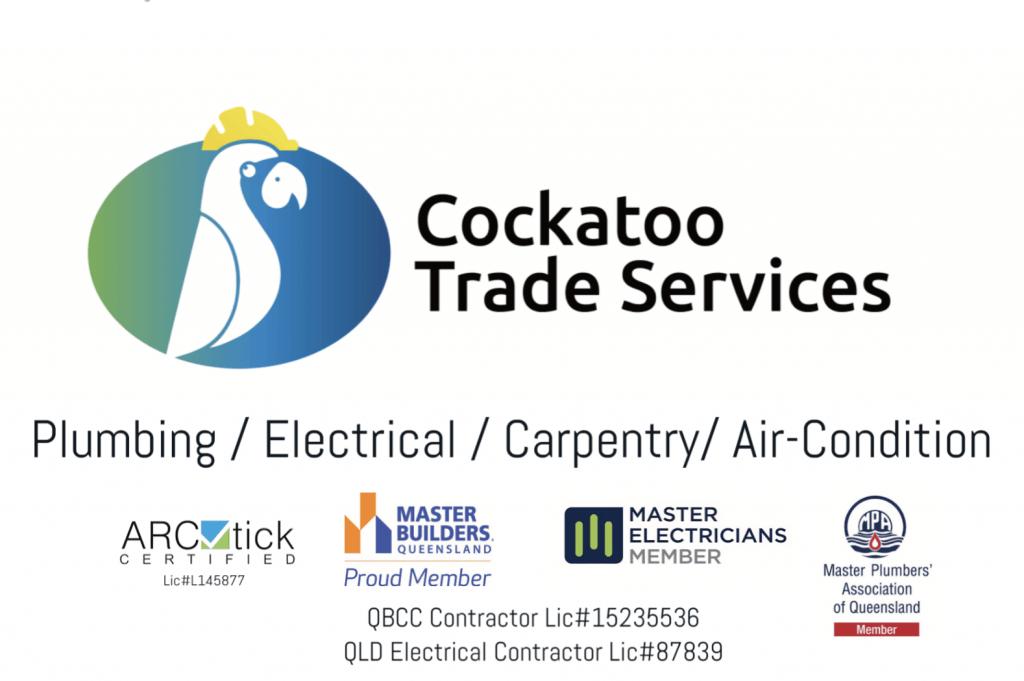 布里斯班正规持牌 Cockatoo Plumbing  Electrical 美冠水电煤安装维修
