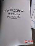 CPA FR Financial Reporting电子版资料书视频