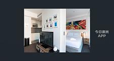 Melbourne City 精装公寓一房出租