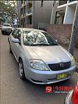 2004年产 丰田 Corolla