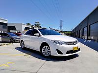 2014 Toyota Camry Altise 6 Sp Automatic 4d Sedan