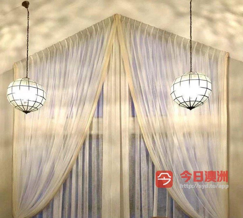 AlilA curtains布艺窗帘现货实价一周内快适安装
