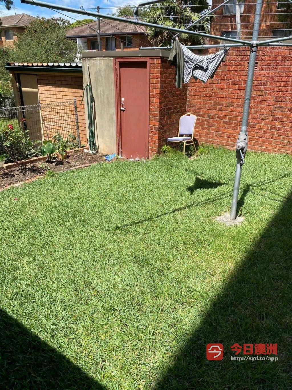 花园割草退房清洁垃圾处理