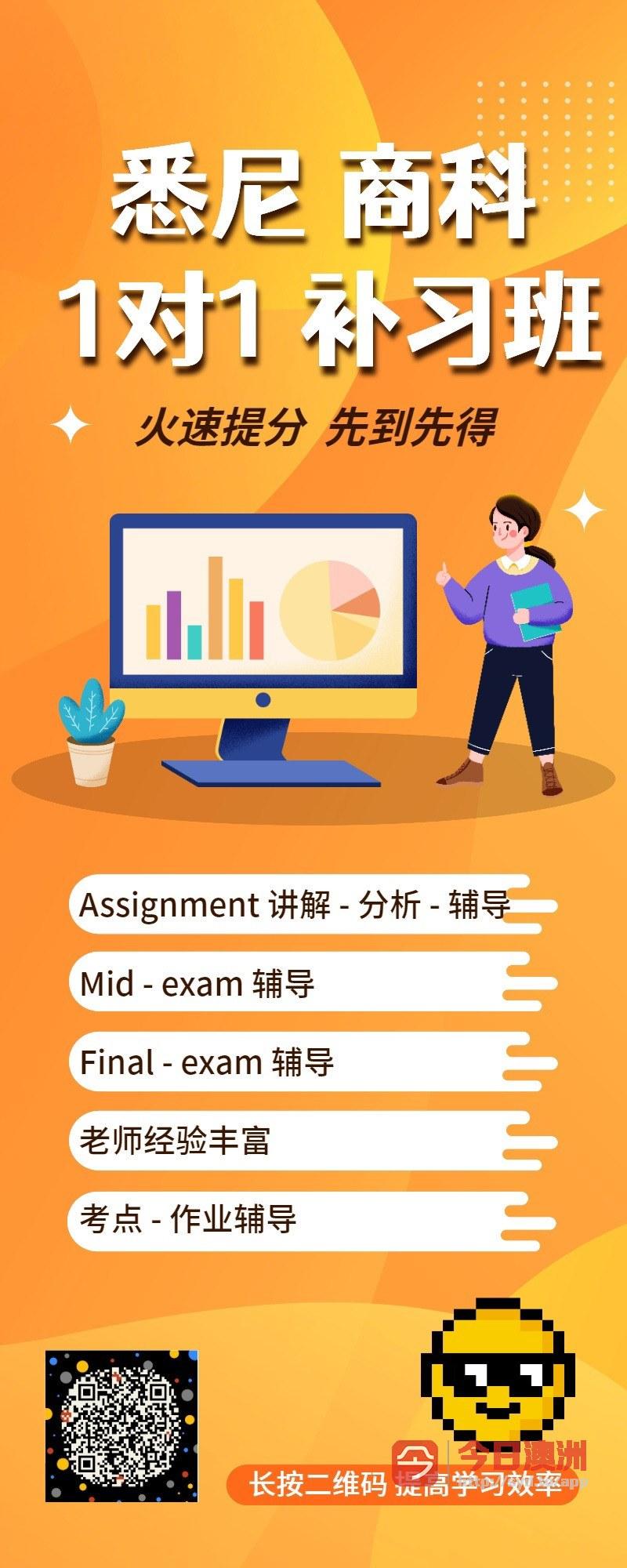 悉尼商科辅导  Individual Assignment Mid Final