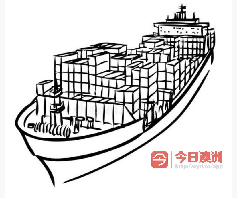 中国到澳洲海运可接小包裹整柜拼柜大件物品