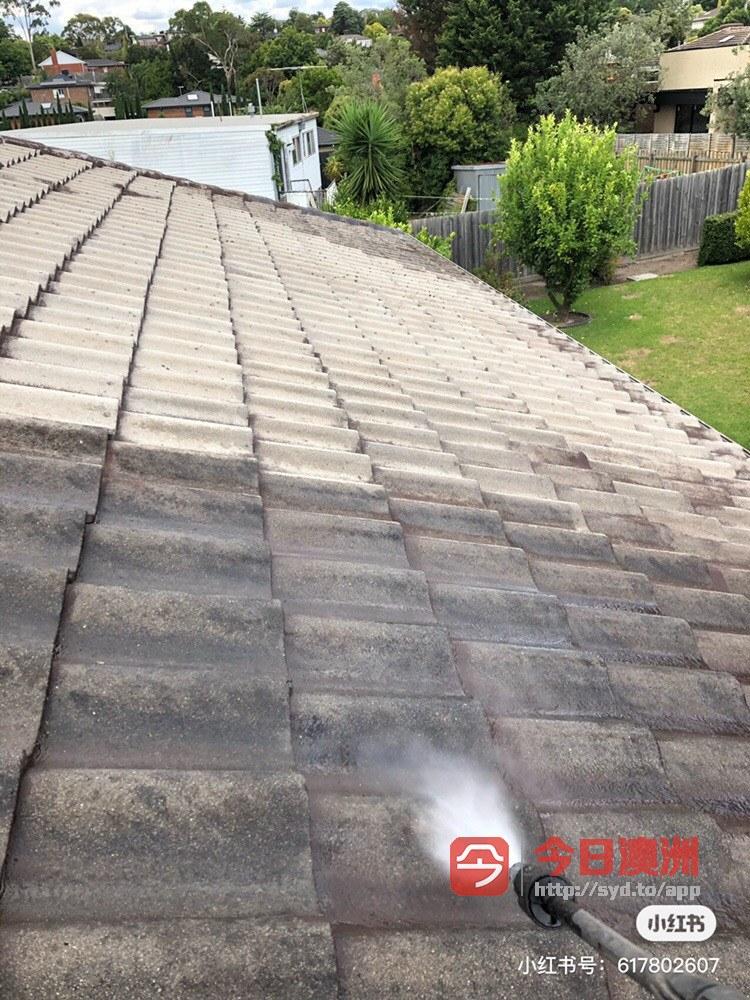 房顶漏雨维修 水槽清理 房顶翻新