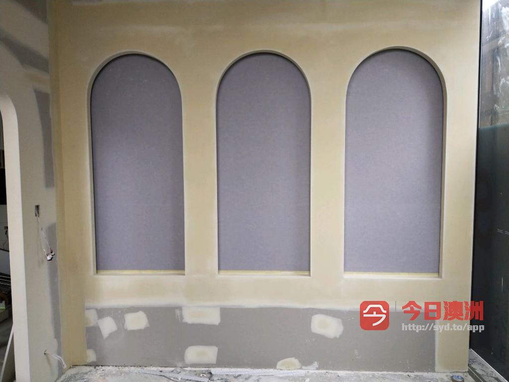 悉尼专业石膏板plaster  gyprock装修0413921964