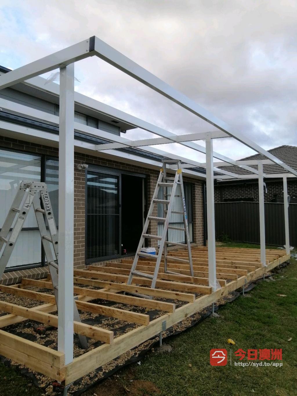 花园修剪整理设计施工专业围栏rence凉棚roof木平台decking