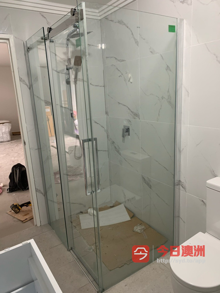 淋浴房玻璃安装以及销售
