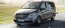 新款奔驰V级将提供MBUX系统,明年六月到货